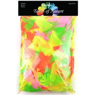 Packaged Feathers-Neon 70g