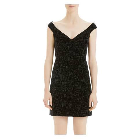 THEORY Black Sleeveless Short Dress 2