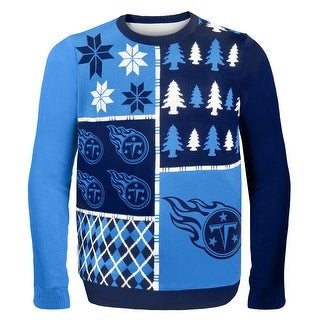 Tennessee Titans Busy Block NFL Ugly Sweater