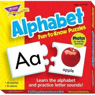 Trend Enterprises Alphabet Puzzle Set