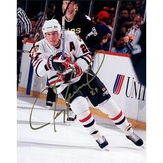 Signed Roenick Jeremy Chicago Blackhawks 8x10 Photo autographed
