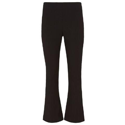 Rag and Bone Womens Black Coal Crop Jeans