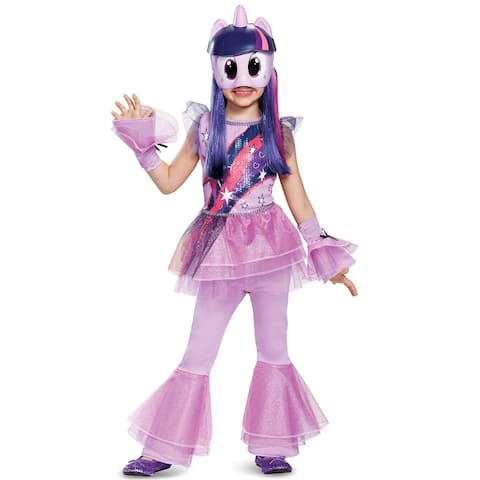 Disguise Twilight Sparkle Movie Deluxe Toddler/Child Costume - Purple