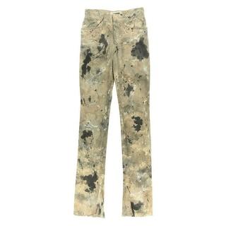 Catherine Malandrino Womens Printed Flare Leg Casual Pants - S