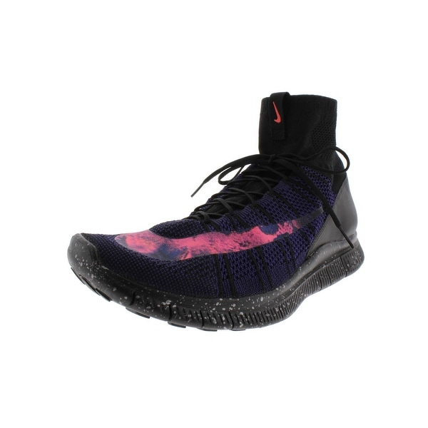 ea0c8e60bbe7d Shop Nike Mens Free Flyknit Mercurial Athletic Shoes Running High ...