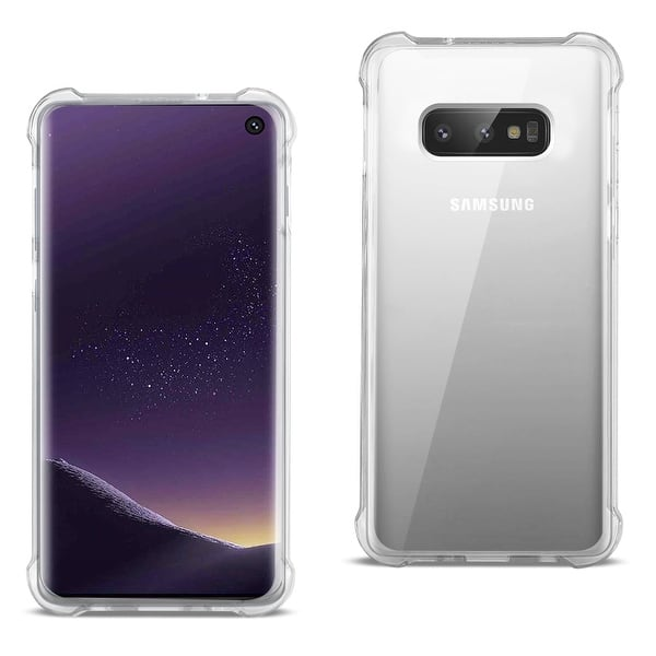 Shop Black Friday Deals On Samsung Galaxy S10 Lite S10e Clear Bumper Case With Air Cushion Protection Overstock 28020365