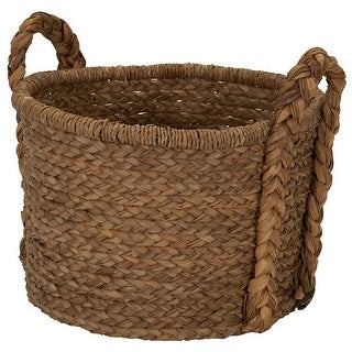 Link to Household Essentials Large Wicker Floor Basket With Braided Handle - 19''x 25'' Similar Items in Laundry