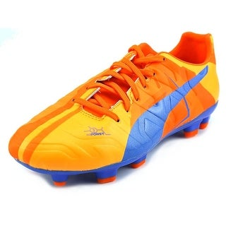 Puma evoPOWER 3 H2H FG Jr Youth Round Toe Synthetic Orange Cleats