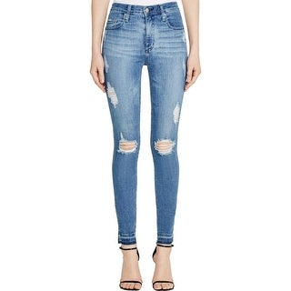 Nobody Womens Skinny Jeans Denim Stretch - 28
