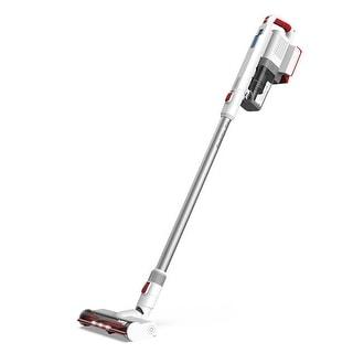 Turbro Doubtfire D16 Bagless Stick Vacuum White/Red