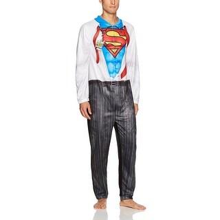 DC Comics Superman Clark Kent Men's Cosplay Union Suit (4 options available)