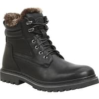 GBX Men's Lorcan Ankle Boot Black Semi Leather