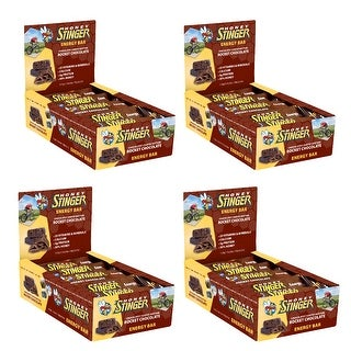 Honey Stinger 1.75 Oz. Energy Bars (Rocket Chocolate, 60-Pack)