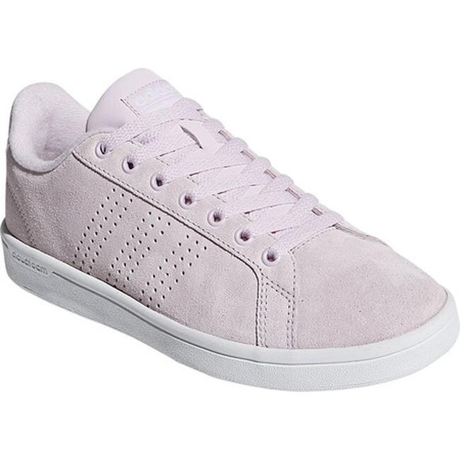 adidas Women's NEO Cloudfoam Advantage Clean Court Shoe Aero Pink S18Aero Pink S18FTWR White