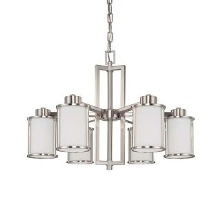 Nuvo Lighting 60/3806 Six Light Down Lighting Chandelier from the Odeon Collecti