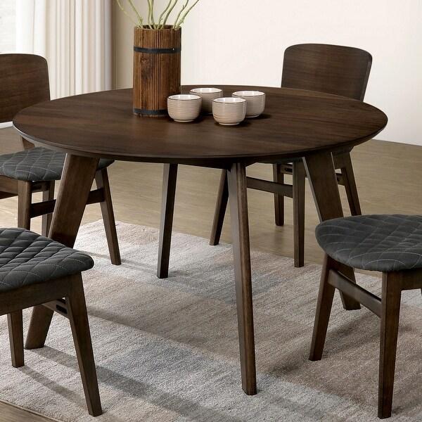 Carson Carrington Breisgau Mid-century Round Dining Table