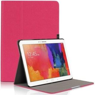 i-Blason-Samsung Galaxy Tab Pro 10.1 Case-Executive Hard Shell Stand Cover-Magenta