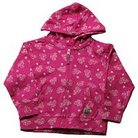 Case IH Toddler Girl's Printed Zip-Front Hoodie