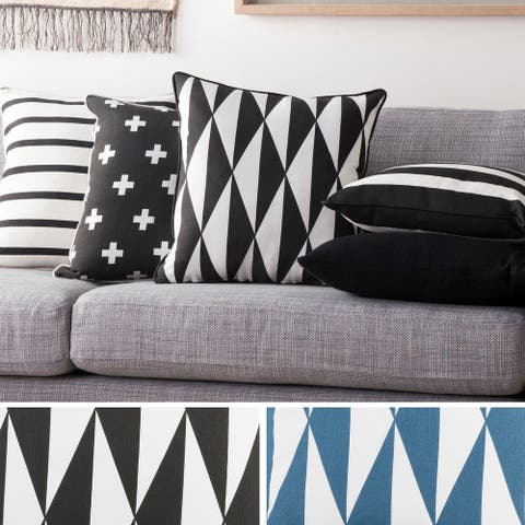 Decorative 18-inch Astor Throw Pillow Shell
