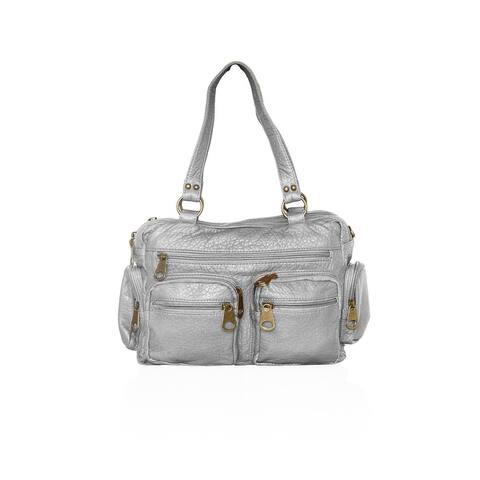 AFONiE Washable PU Series - Comfortable Shoulder or Crossbody Handbag