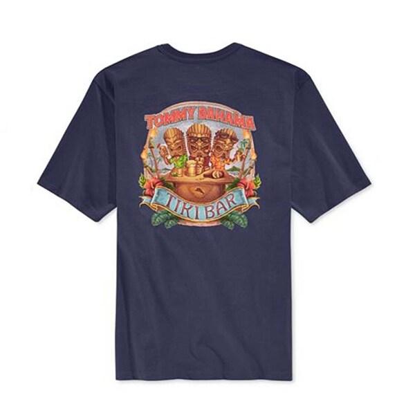 Tommy Bahama Tiki Bar XL Navy T-Shirt