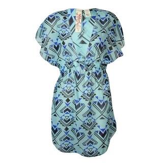 Miken Women's Kimono V-Neck Smock Swim Cover