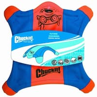 """Chuckit Flying Squirrel Toss Toy Medium - 10"""" Long x 10"""" Wide"""