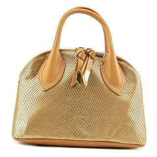 Foley + Corinna Cassis Mini Satchel Women Leather Gold Satchel