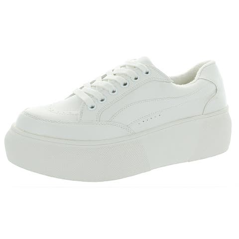 Madden Girl Womens Olliee Platform Sneakers Low Top Lifestyle
