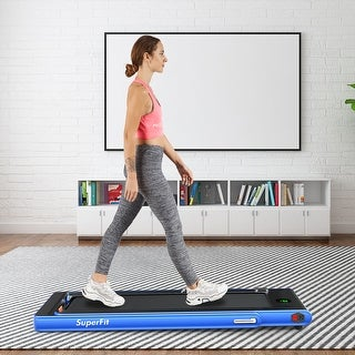 2.25HP 2-in-1 Folding Treadmill with Bluetooth Speaker