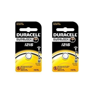 """""""Battery for Duracell DLCR1216 (2-Pack) Replacement Battery"""""""