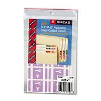 Alpha-Z Color-Coded Second Letter Labels- Letter Y- Lavender-