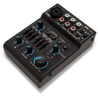 Pyle  Pro Bluetooth 3 Channel Mixer DJ Controller Audio Interface