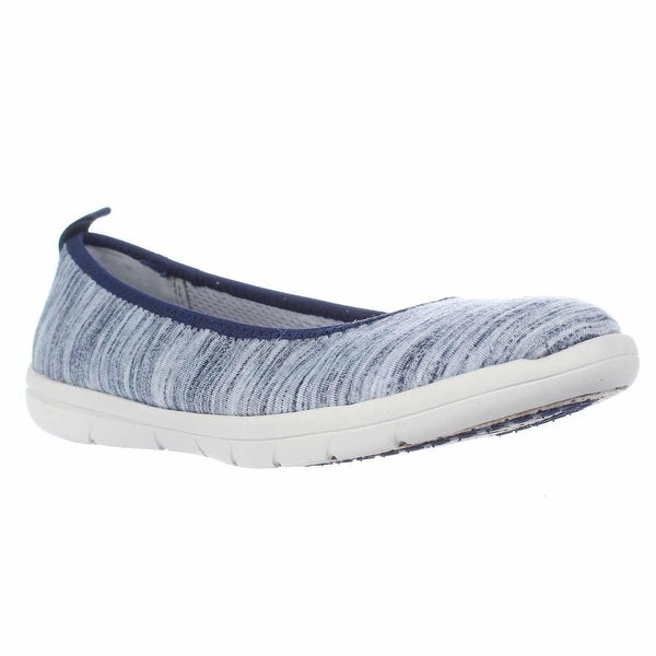 LifeStride Seashell Comfort Flat Loafers, Blue - 6.5 us / 37 eu