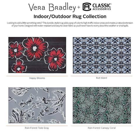 Vera Bradley by Classic Accessories Indoor/Outdoor Rug