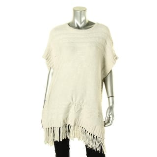 VELVET BY GRAHAM & SPENCER Womens Pullover Sweater Fringe Cap Sleeves https://ak1.ostkcdn.com/images/products/is/images/direct/5735094f06a49c774ab83107ac3f6d1d8c463d88/VELVET-BY-GRAHAM-%26-SPENCER-Womens-Pullover-Sweater-Fringe-Cap-Sleeves.jpg?impolicy=medium