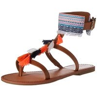 Indigo Rd. Womens Gypsy Split Toe Casual T-Strap Sandals