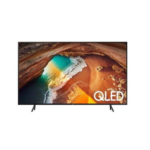 "Samsung Class Q6DR 4K (3840x2160) 75"" Smart QLED HDR TV,Black(Certified Refurbished)"