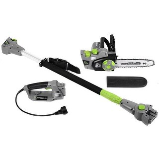 Earthwise CVPS43010 2-in-1 Convertible Pole Chain Saw