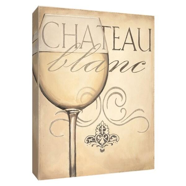 "PTM Images 9-154545 PTM Canvas Collection 10"" x 8"" - ""Chateau Nouveau Elements XII"" Giclee Wine Art Print on Canvas"