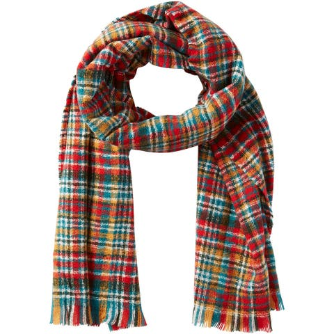 Tickled Pink Aspen Dean Plaid Scarf