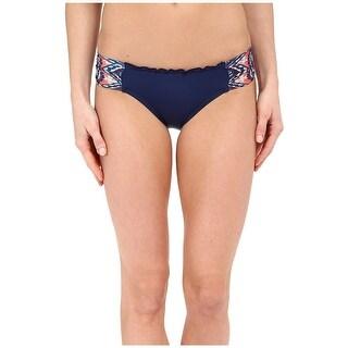 Lucky Brand Womens Small Hipster Bikini Bottom Swimwear