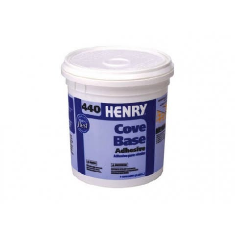 HENRY 12111 Cove Base Adhesive, #440, 1 Gallon