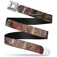 Bd Crest Logo Brushed Seatbelt Mossy Oak Break Up Infinity Webbing Seatbelt Seatbelt Belt