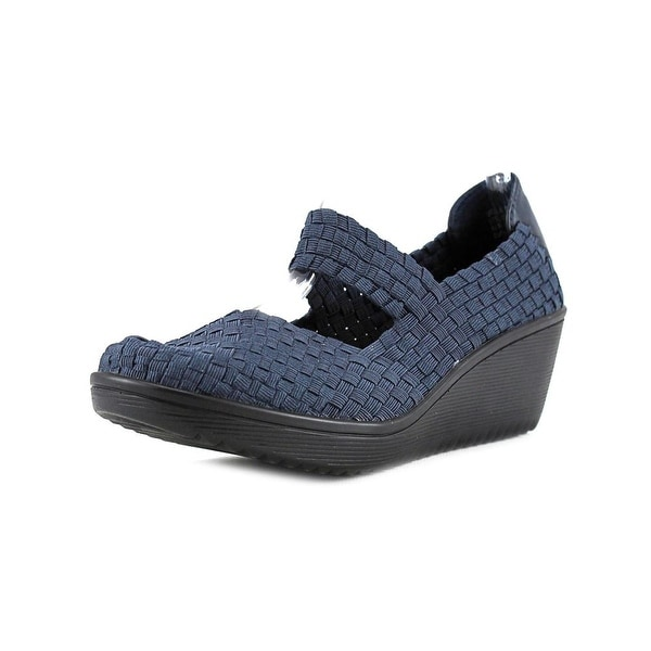 Baretraps Ursala Women Round Toe Synthetic Blue Mary Janes