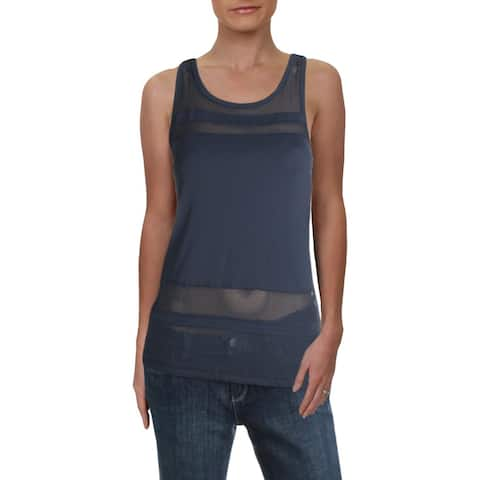 90 Degree by Reflex Womens Tank Top Fitness Workout - Night Shadow - S