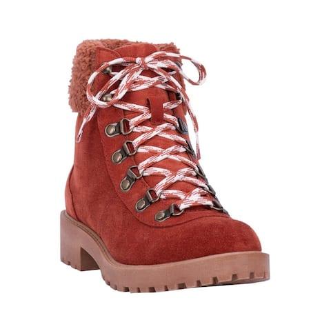 "Dingo Outdoor Boots Womens Telluride Round Toe 5"" Shaft"