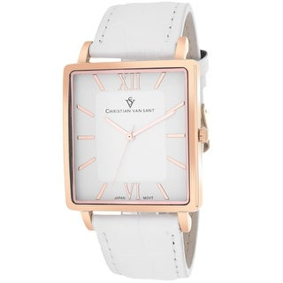 Christian Van Sant Men's Monte Cristo CV8513 White Dial Watch