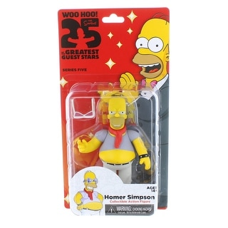 """The Simpsons 25th Anniversary 5"""" Series 5 Action Figure Homer Simpson"""