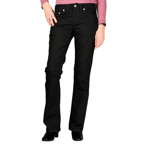 Dickies Womens Relaxed Fit Stretch Boot-Cut Jean